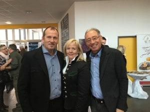 Leo Schriefl, Helene Riegler und Dr. Spreizhofer